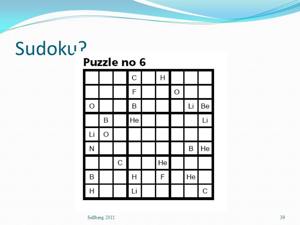 Sudoku Sellberg 2011