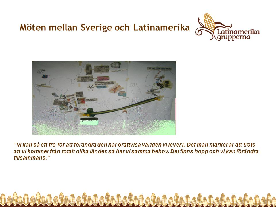 Möten mellan Sverige och Latinamerika