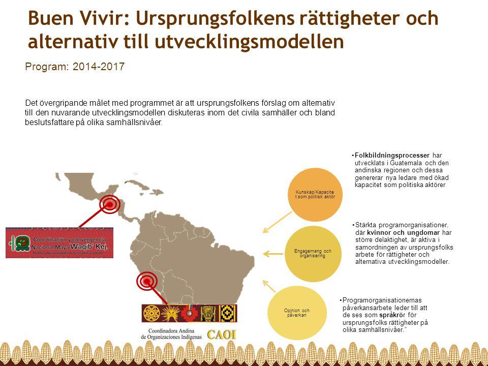 Buen Vivir: Ursprungsfolkens rättigheter och alternativ till utvecklingsmodellen