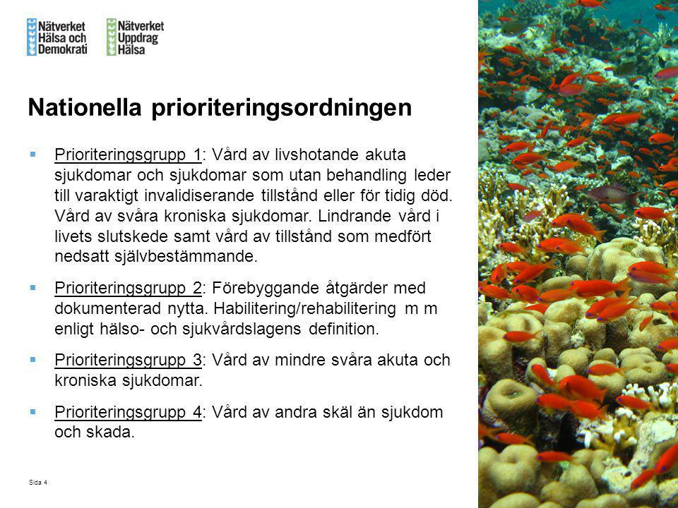 Nationella prioriteringsordningen
