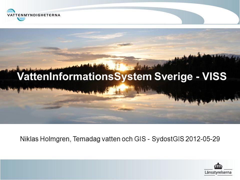 VattenInformationsSystem Sverige - VISS