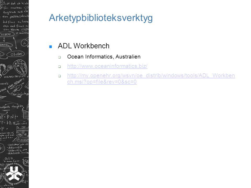 Arketypbiblioteksverktyg