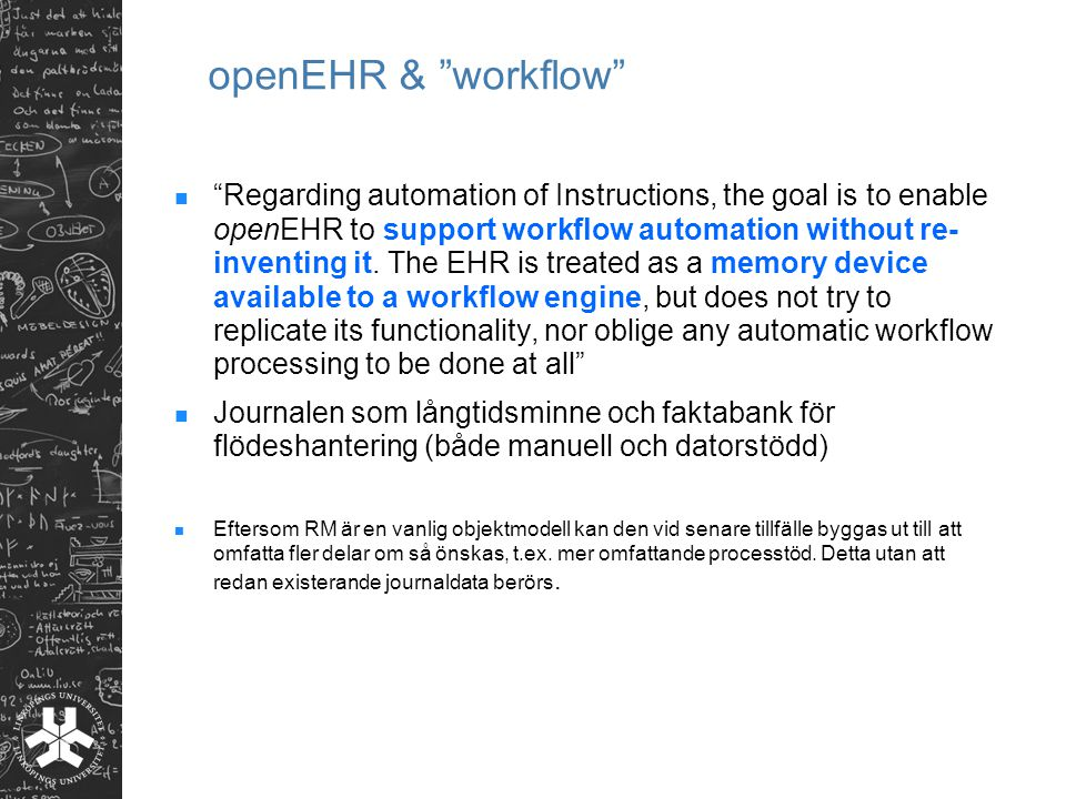 openEHR & workflow