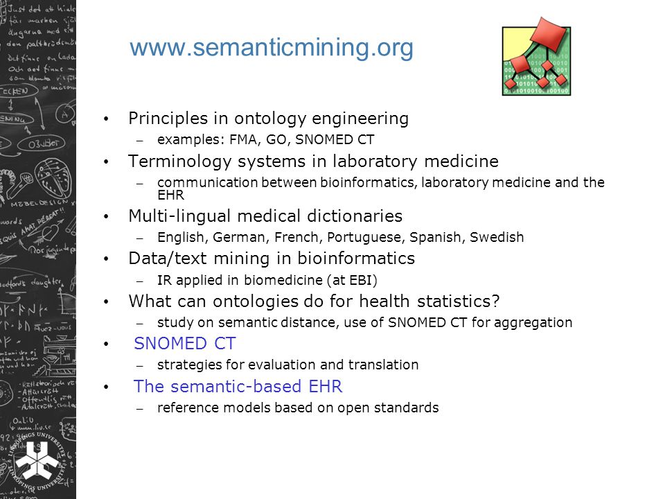www.semanticmining.org Principles in ontology engineering