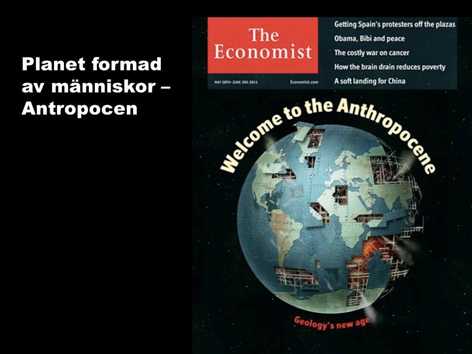 Planet formad av människor – Antropocen