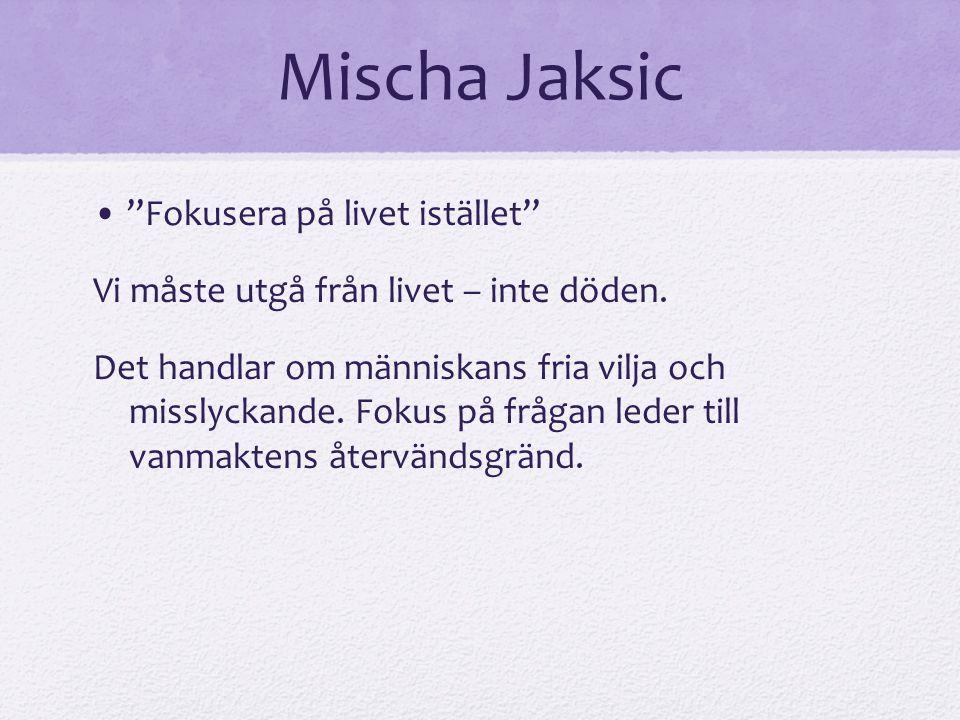Mischa Jaksic