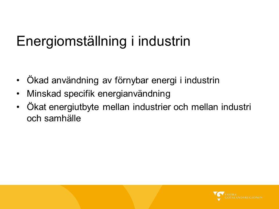 Energiomställning i industrin
