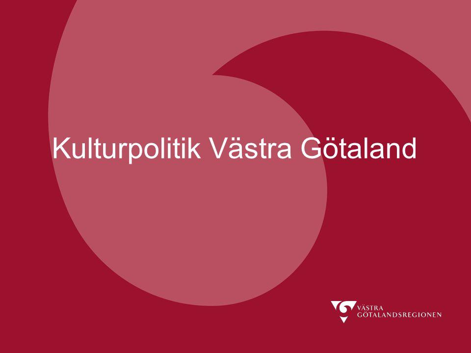 Kulturpolitik Västra Götaland