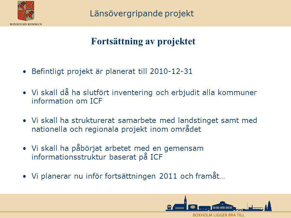 Länsövergripande projekt