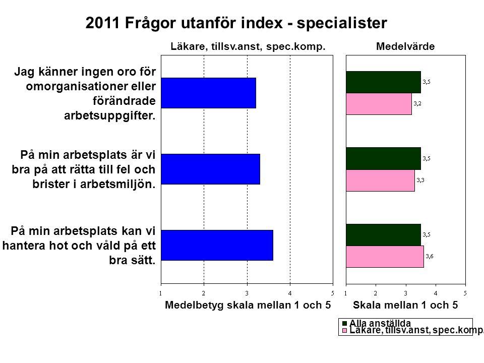 2011 Frågor utanför index - specialister