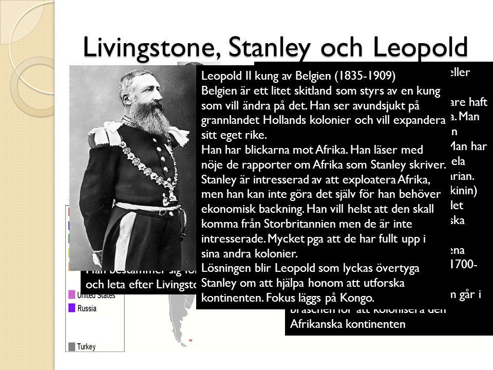 Livingstone, Stanley och Leopold