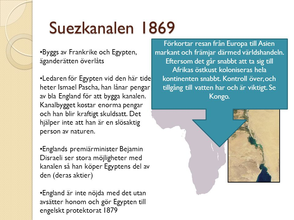 Suezkanalen 1869