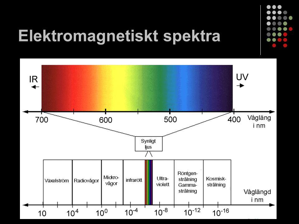 Elektromagnetiskt spektra