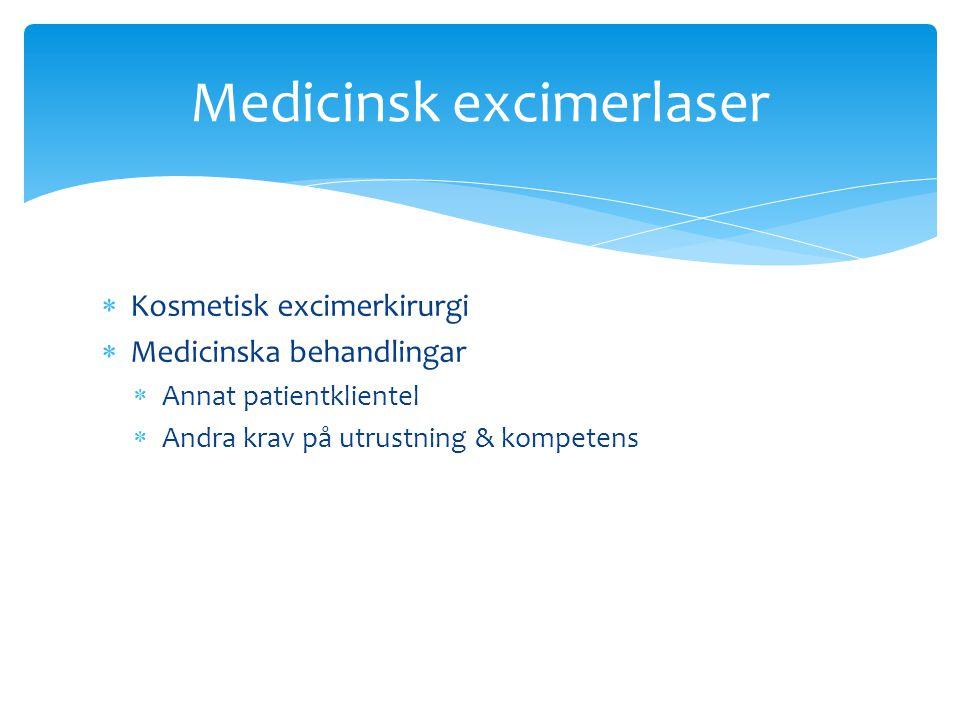 Medicinsk excimerlaser