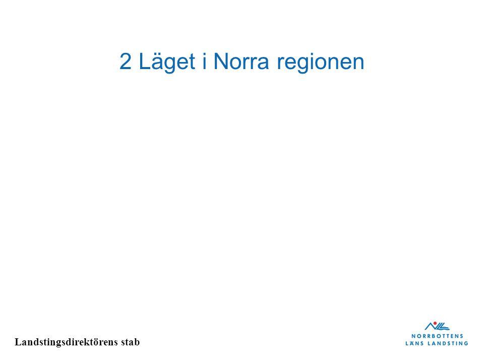 2 Läget i Norra regionen