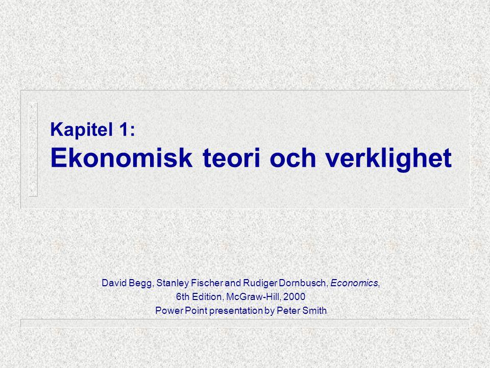 Vad är ekonomisk teori EKONOMI ...