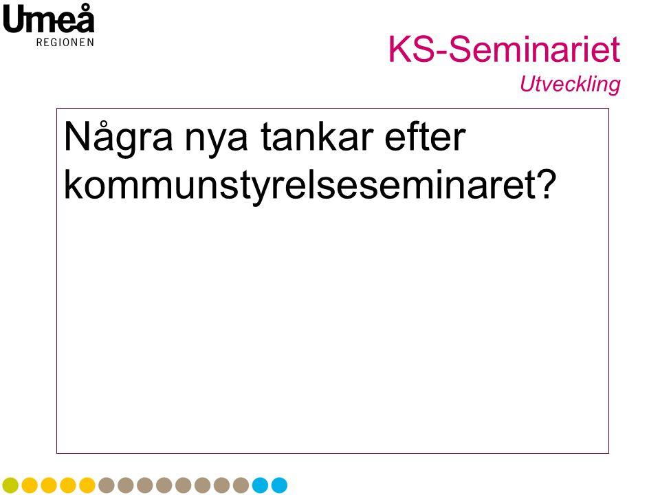 KS-Seminariet Utveckling