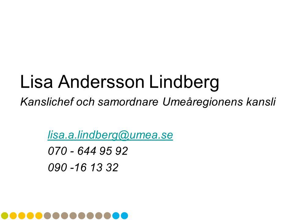 Lisa Andersson Lindberg