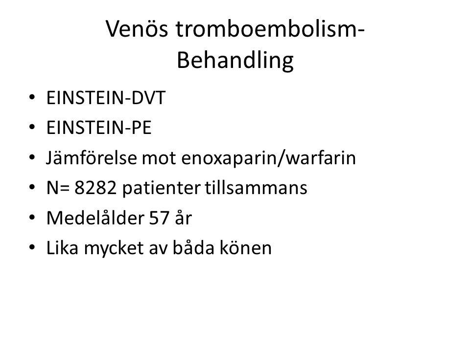 Venös tromboembolism- Behandling