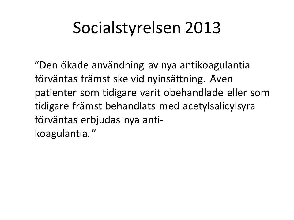 Socialstyrelsen 2013