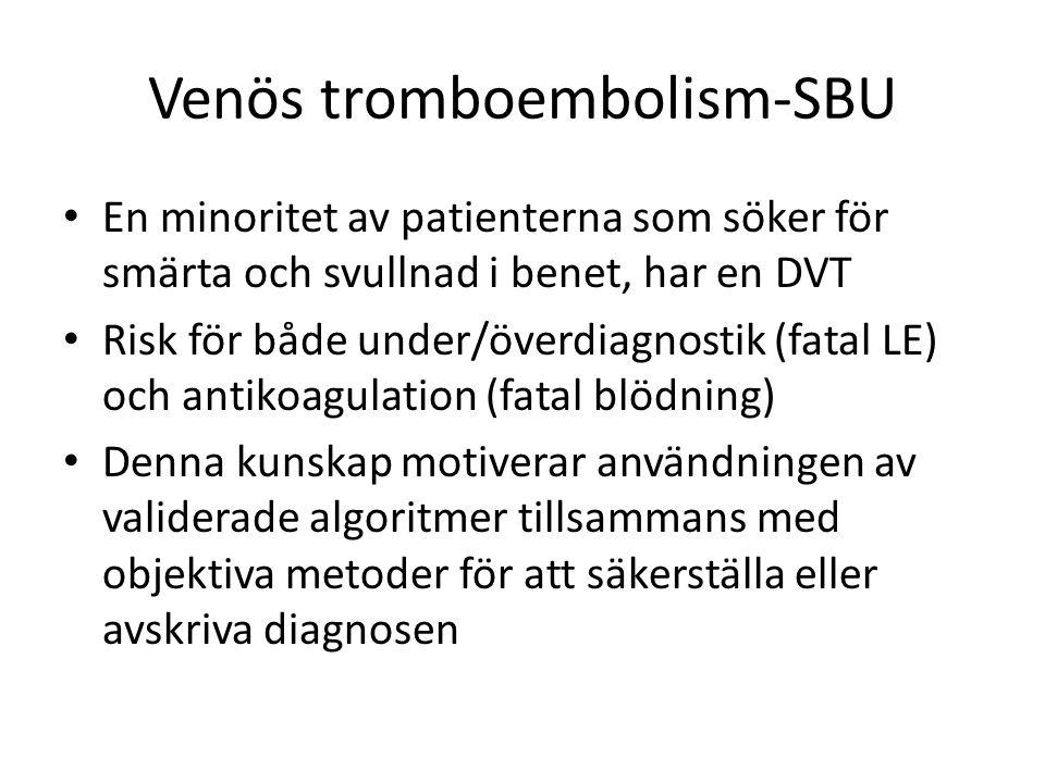 Venös tromboembolism-SBU