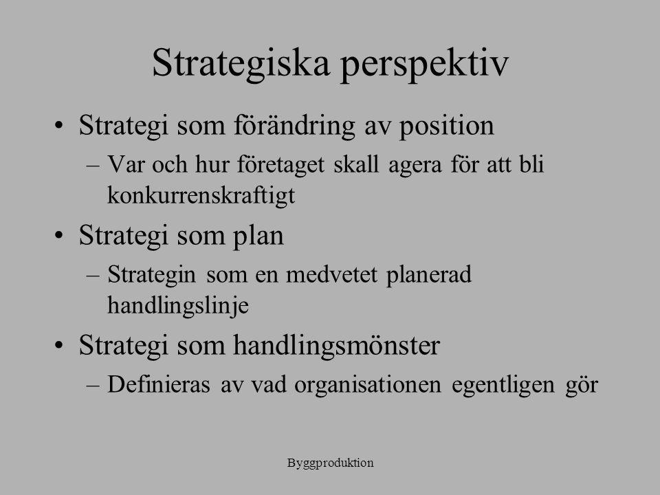 Strategiska perspektiv
