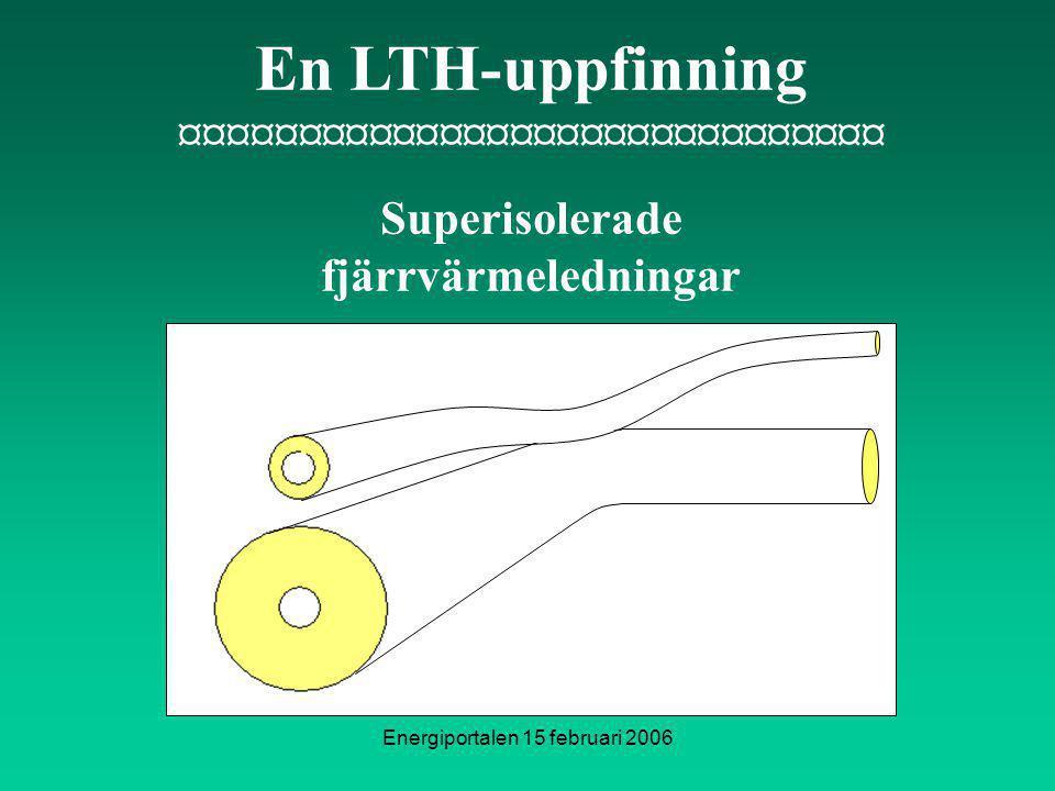 ¤¤¤¤¤¤¤¤¤¤¤¤¤¤¤¤¤¤¤¤¤¤¤¤¤¤¤¤¤¤ Superisolerade fjärrvärmeledningar