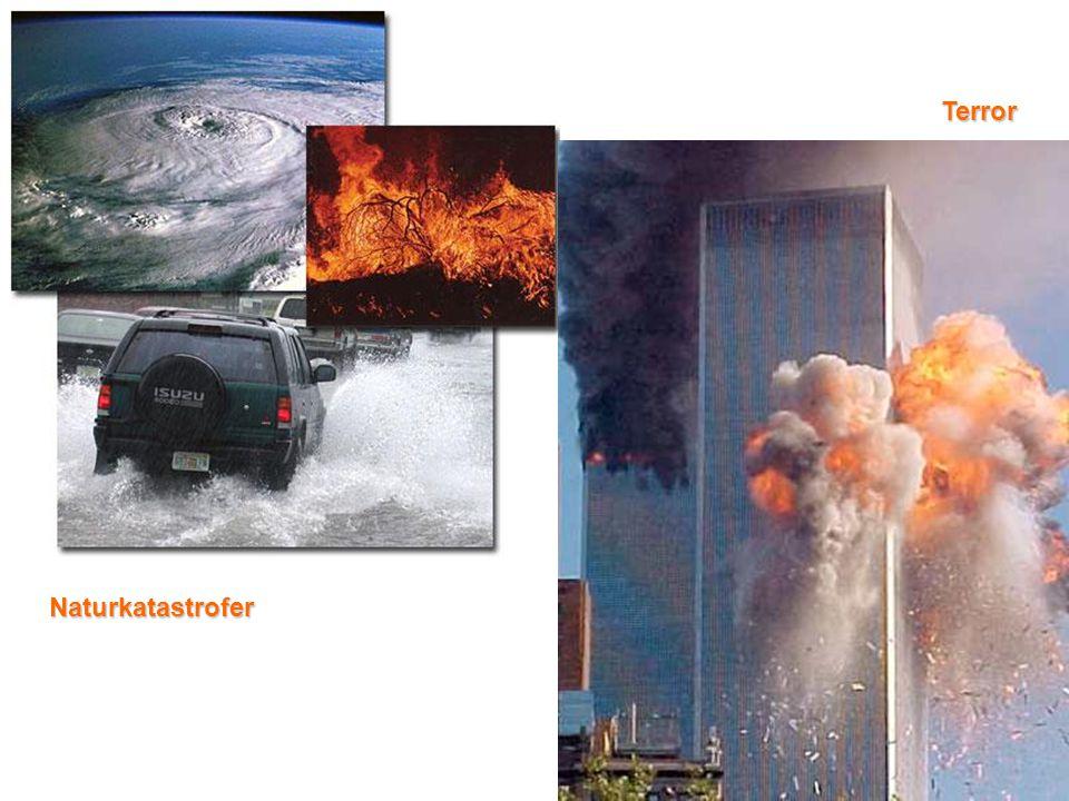 Terror Naturkatastrofer