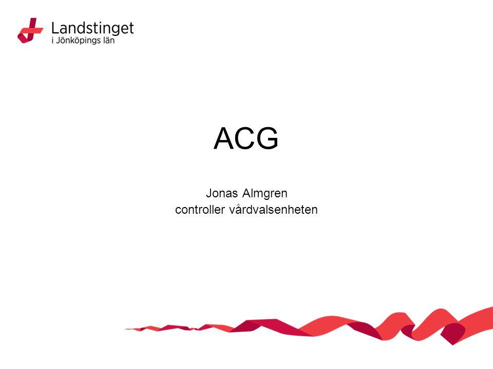 Jonas Almgren controller vårdvalsenheten
