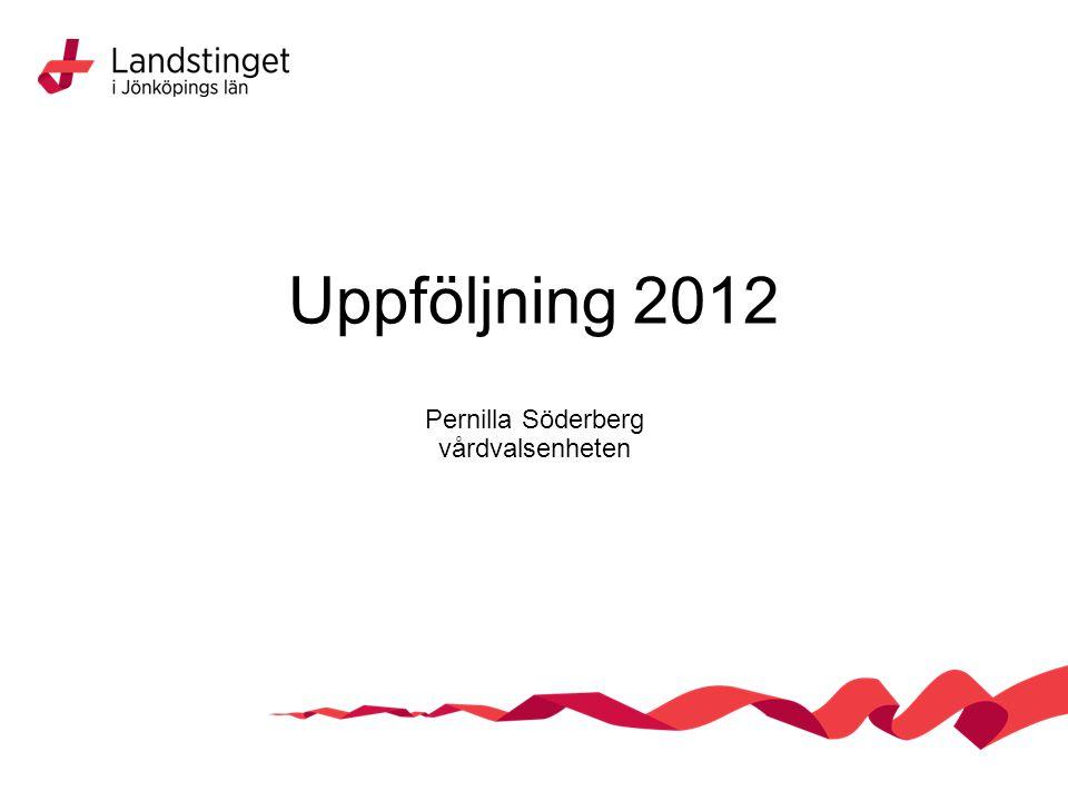 Pernilla Söderberg vårdvalsenheten