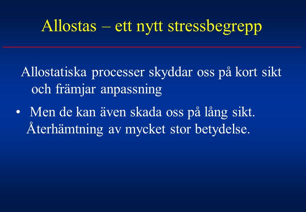 Allostas – ett nytt stressbegrepp