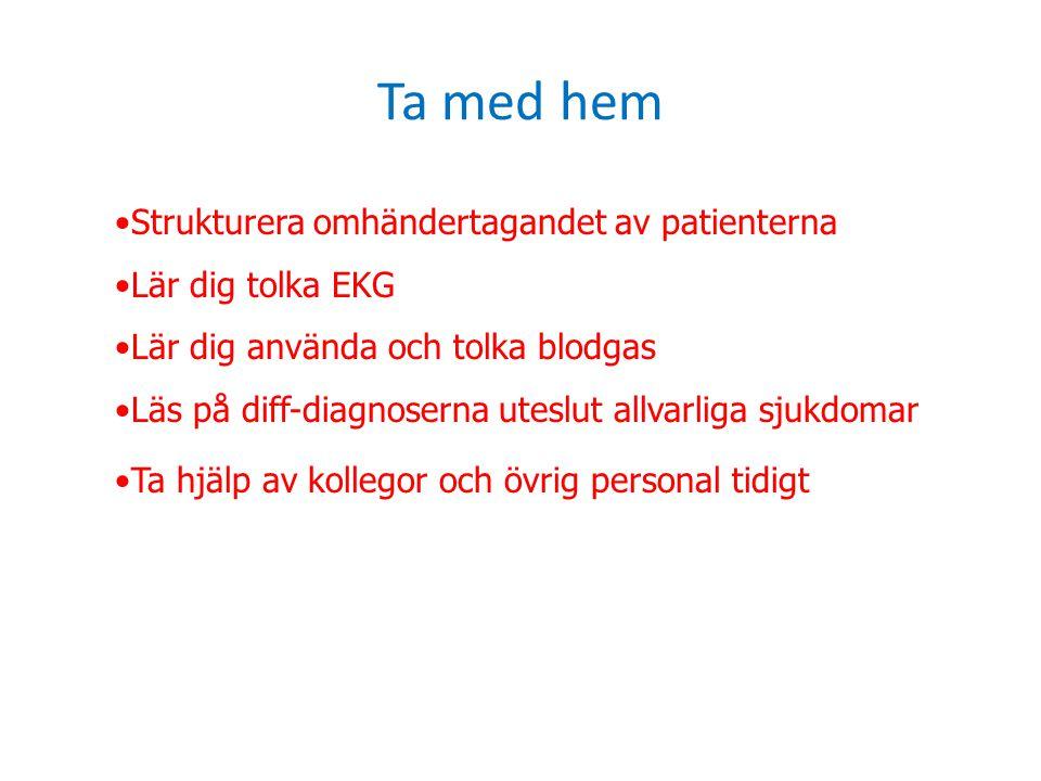Ta med hem Strukturera omhändertagandet av patienterna