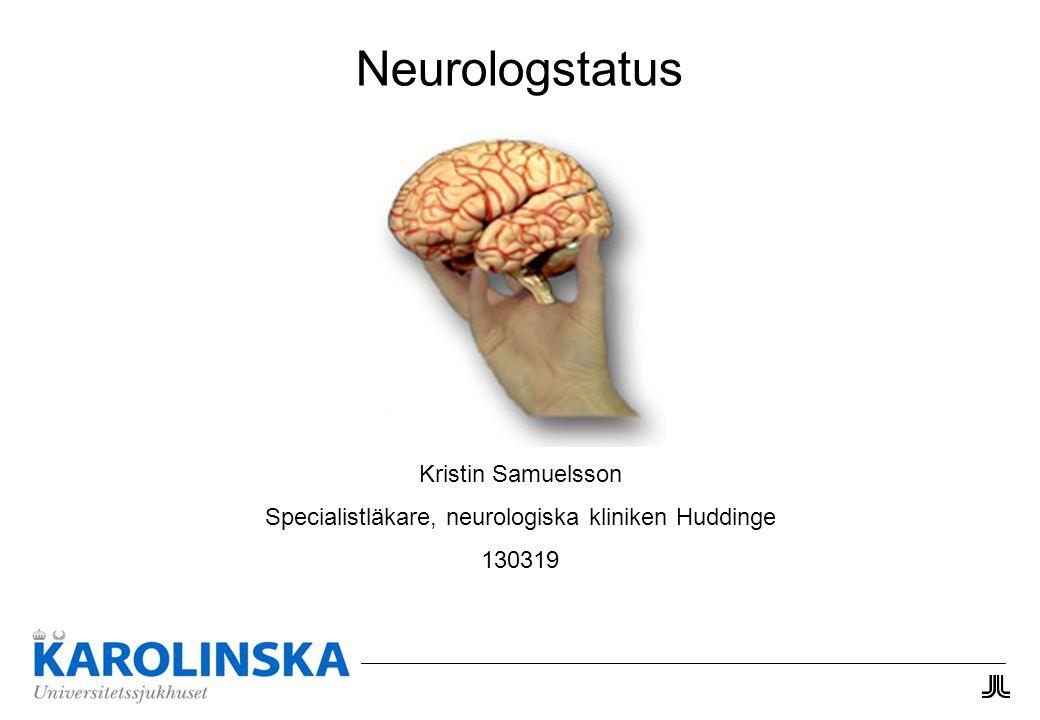 Specialistläkare, neurologiska kliniken Huddinge