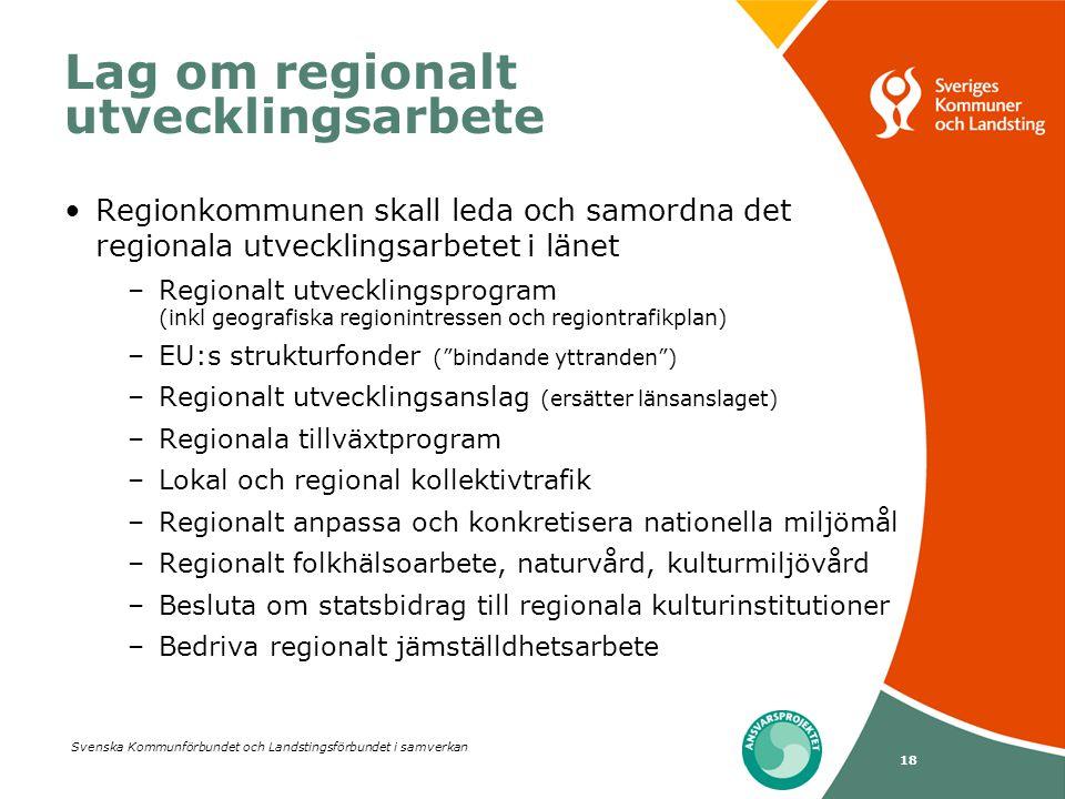 Lag om regionalt utvecklingsarbete