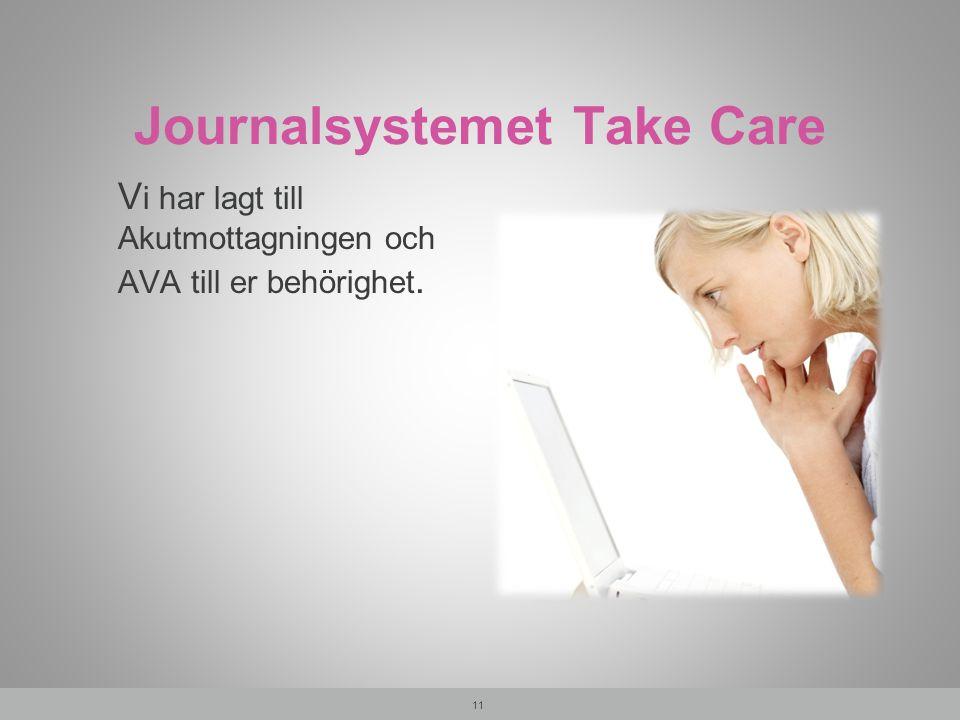 Journalsystemet Take Care