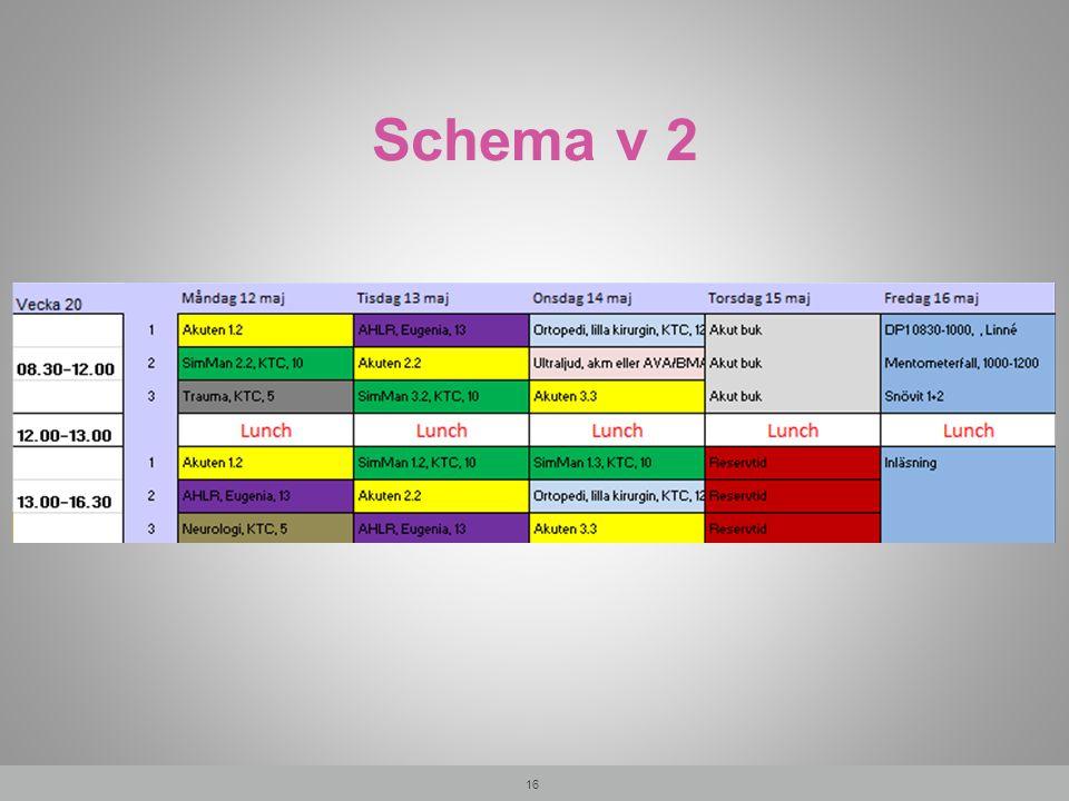 Schema v 2