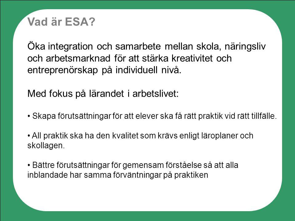 Vad är ESA