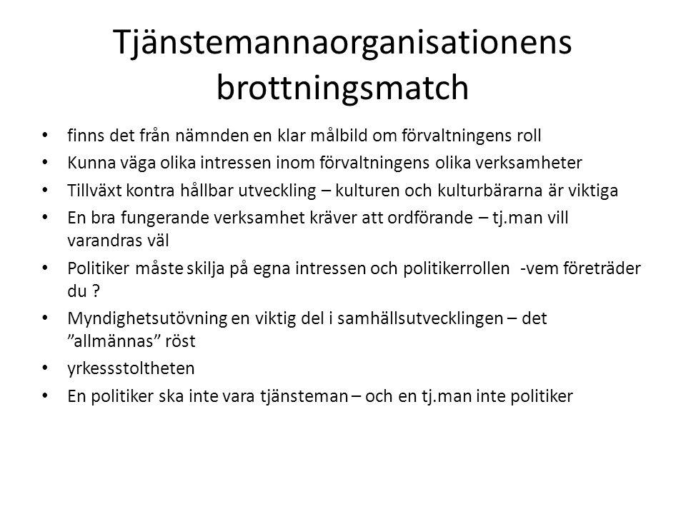 Tjänstemannaorganisationens brottningsmatch