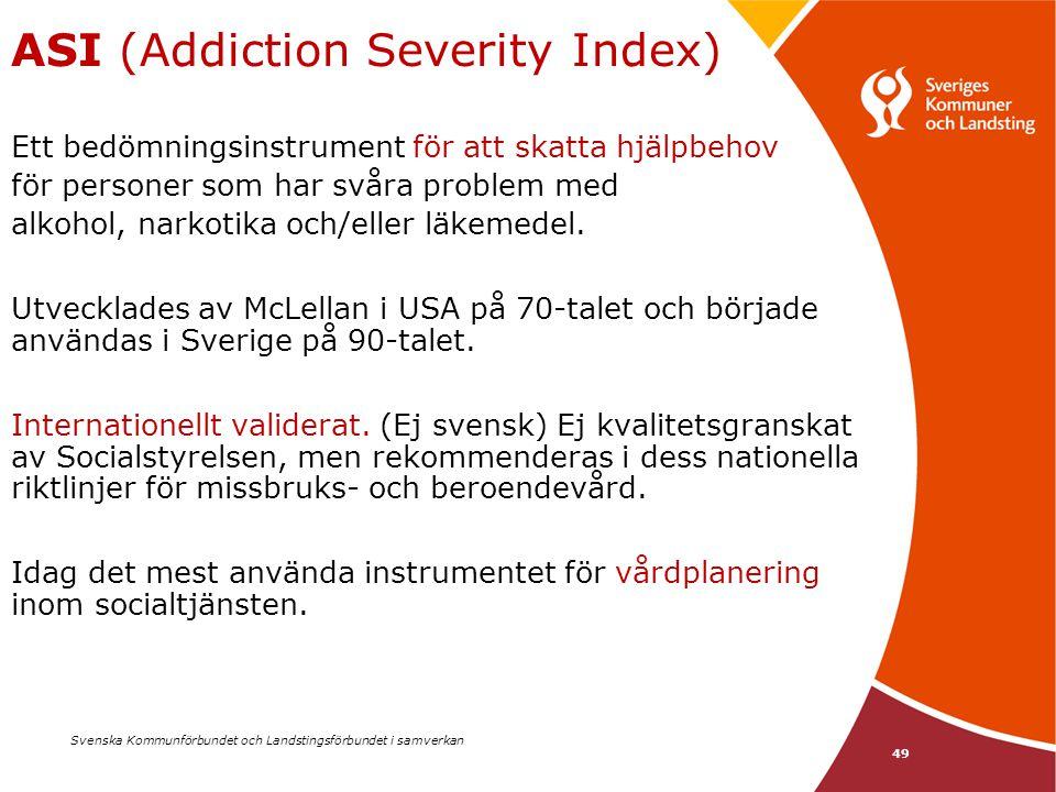 ASI (Addiction Severity Index)