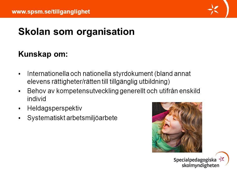 Skolan som organisation