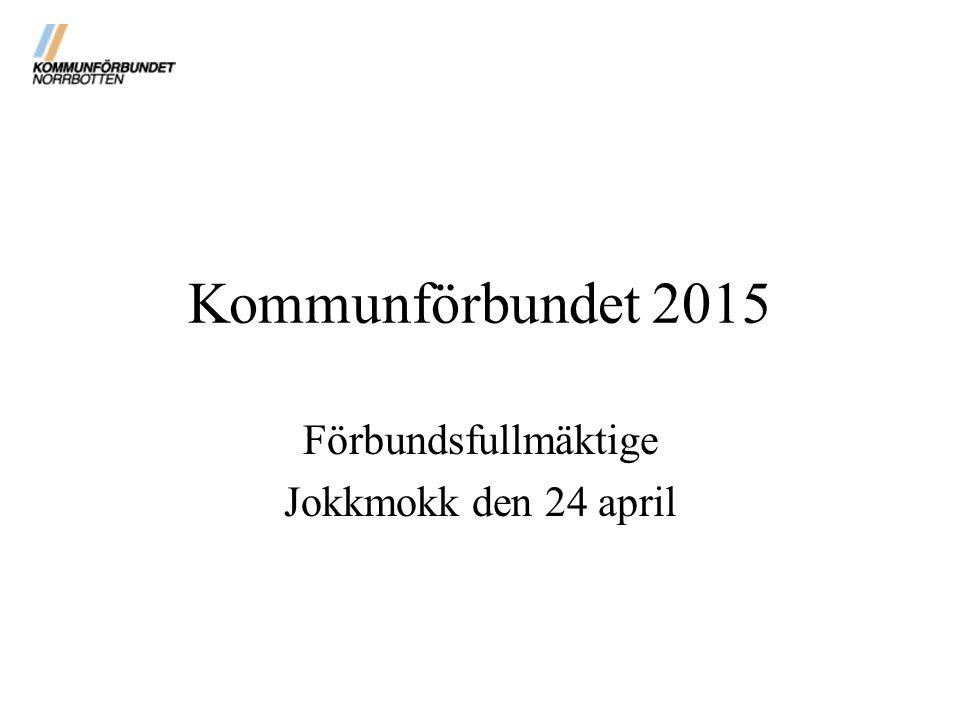Förbundsfullmäktige Jokkmokk den 24 april