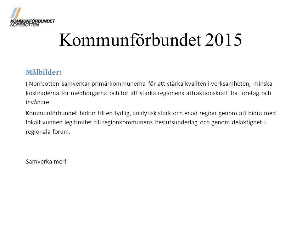 Kommunförbundet 2015 Målbilder: