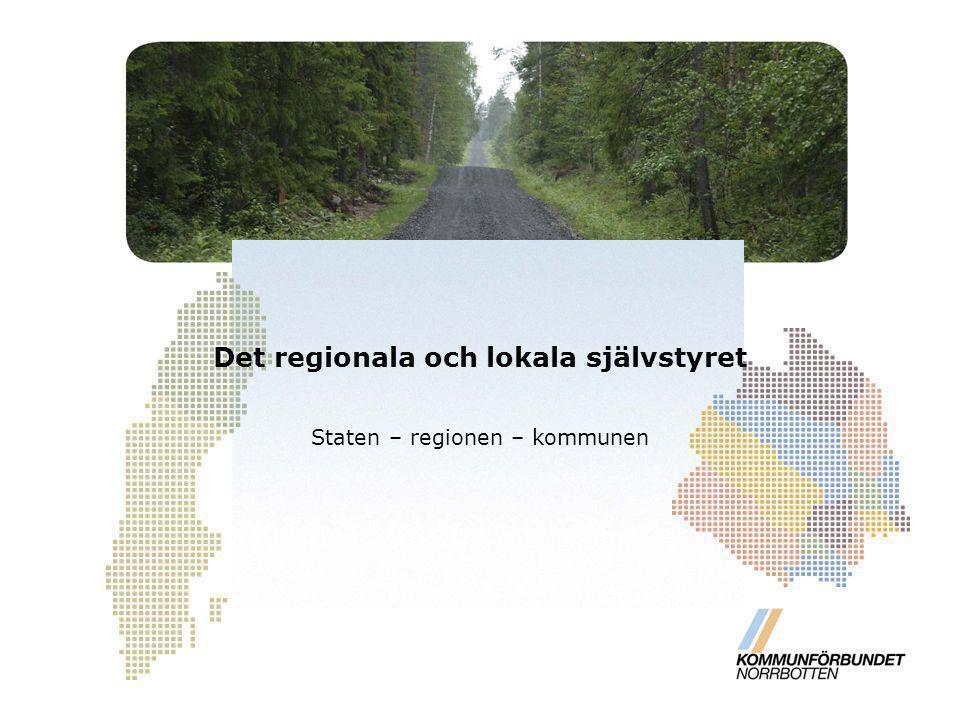 Det regionala och lokala självstyret