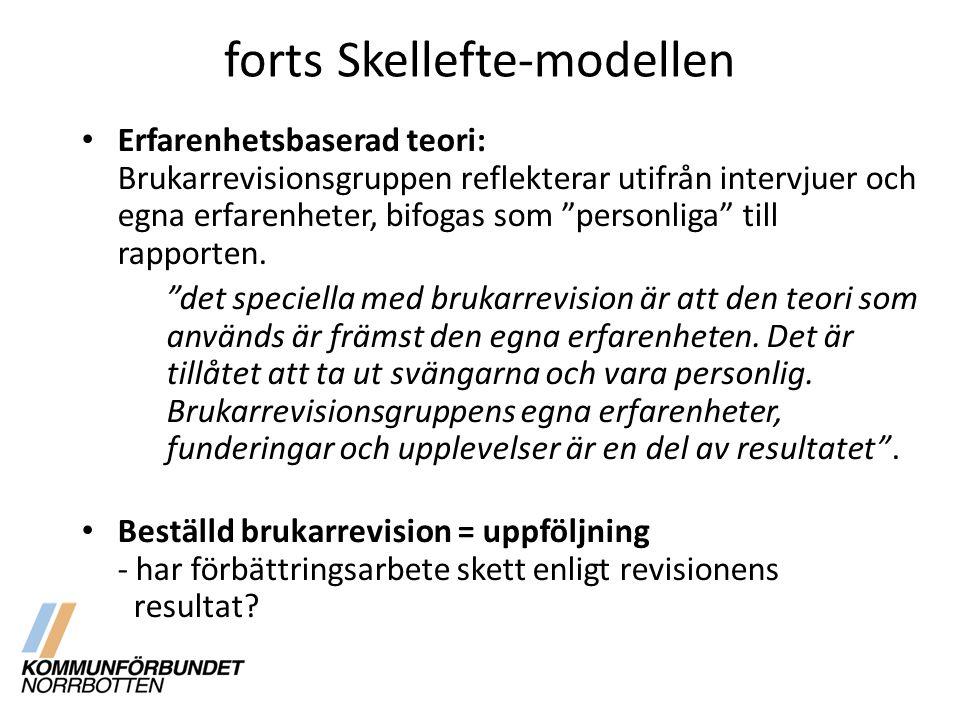 forts Skellefte-modellen