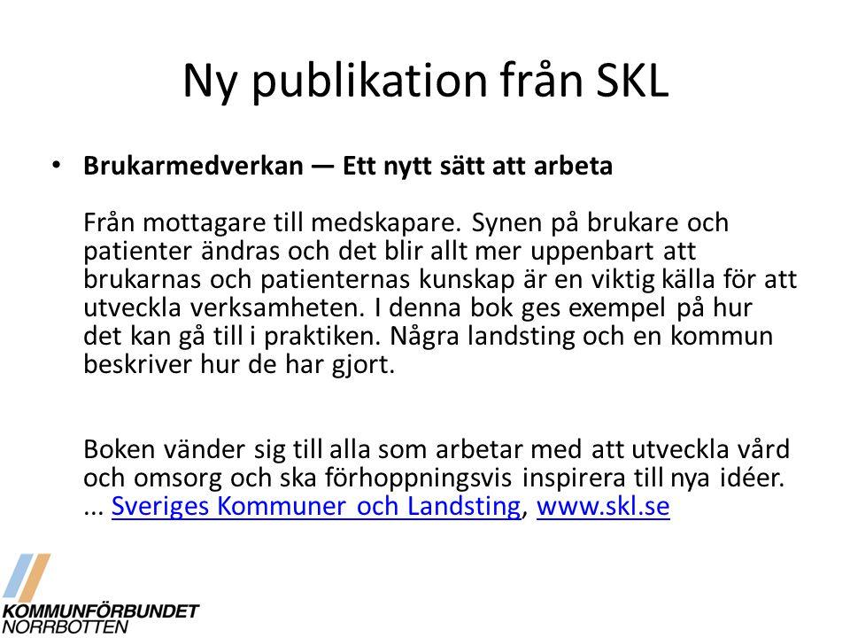Ny publikation från SKL