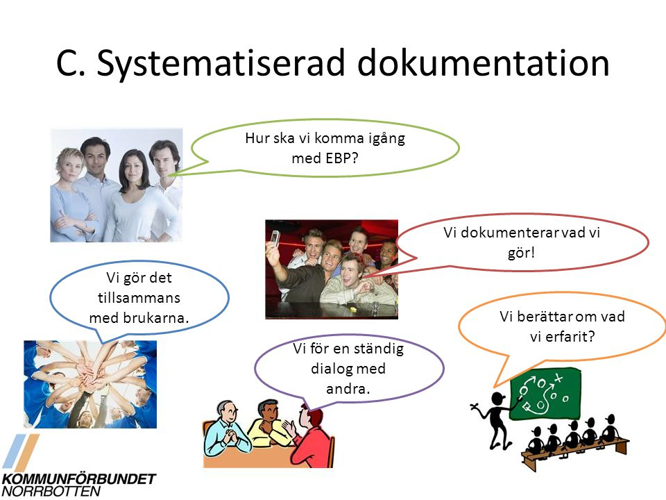 C. Systematiserad dokumentation