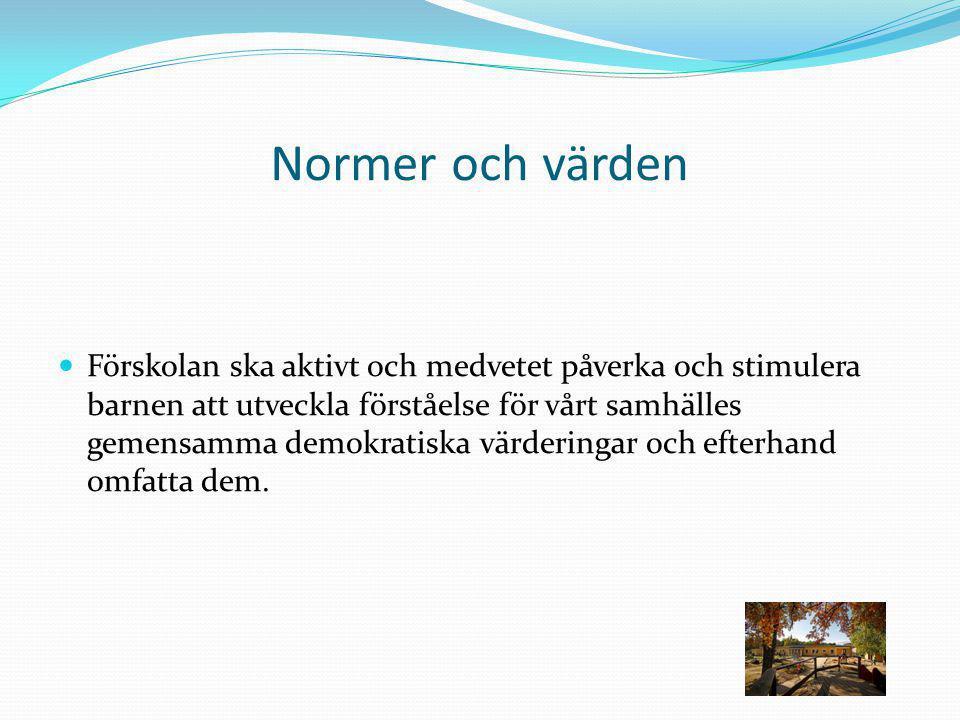 Normer och värden