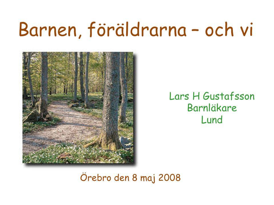 Lars H Gustafsson Barnläkare Lund