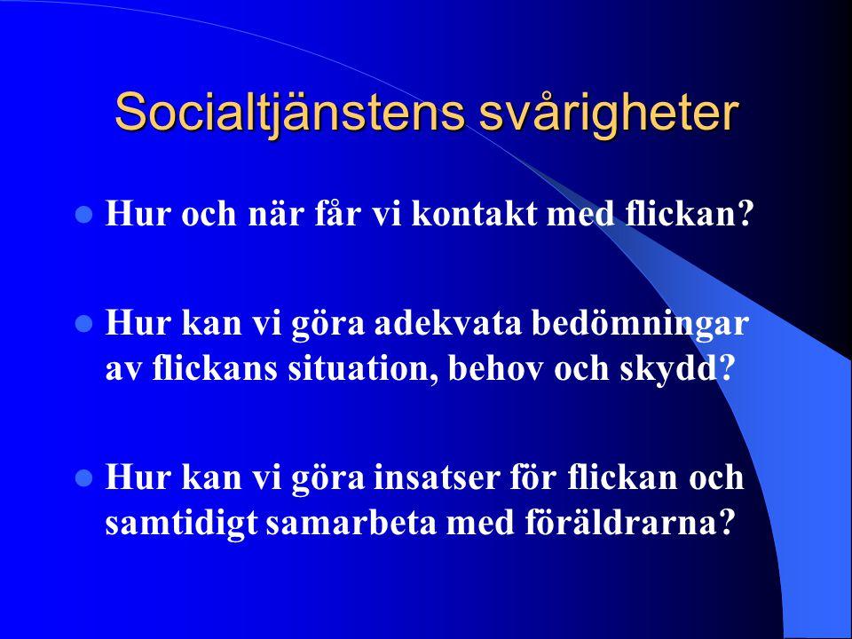 Socialtjänstens svårigheter
