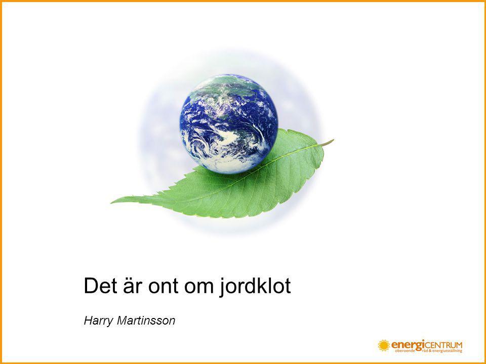 Det är ont om jordklot Harry Martinsson